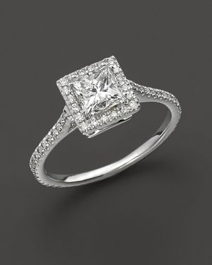 Diamond Engagement Ring 18 Kt. White Gold, 1.25 ct. t.w. - 100% Exclusive