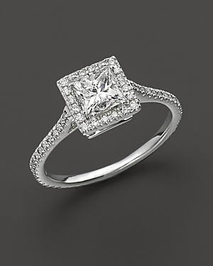 Click here for Diamond Engagement Ring 18 Kt. White Gold  1.25 ct... prices