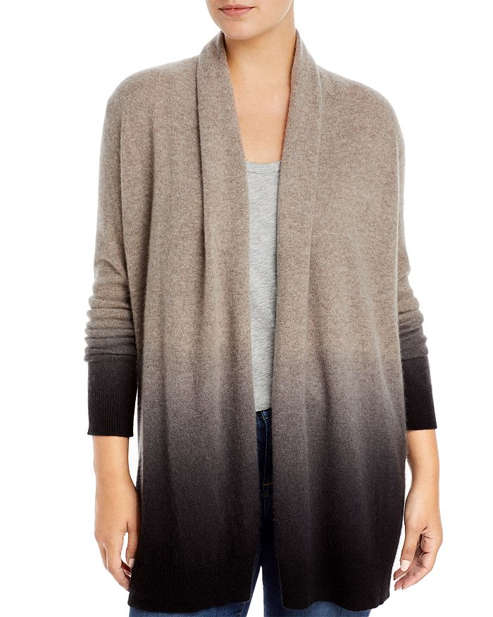 C by Bloomingdale's - Dip Dyed Cashmere Cardigan - 100% Exclusive