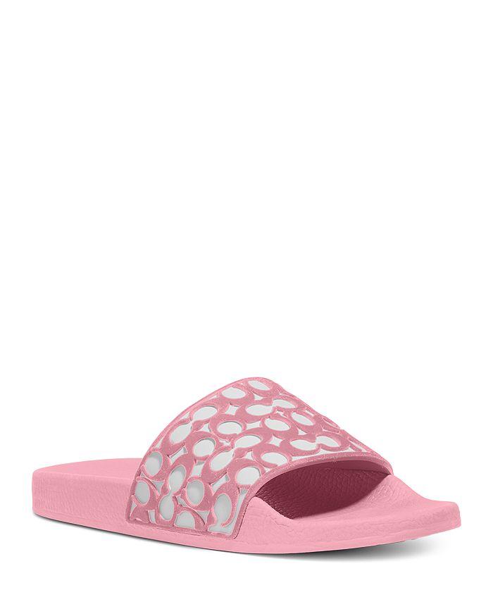 COACH - Women's Udele Signature Slide Sandals