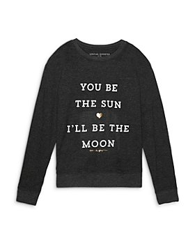 Spiritual Gangster - Girls' You Be the Sun I'll Be the Moon Crewneck Shirt - Little Kid, Big Kid
