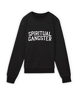 Spiritual Gangster - Girls' Authentic Crewneck Shirt - Little Kid, Big Kid