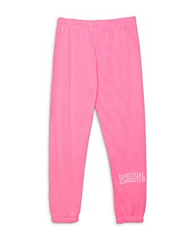 Spiritual Gangster - Girls' Logo Sweatpants - Little Kid, Big Kid
