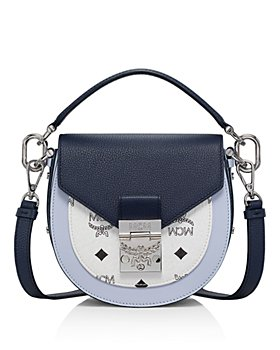 MCM - Patricia Visetos Color Block Leather Shoulder Bag