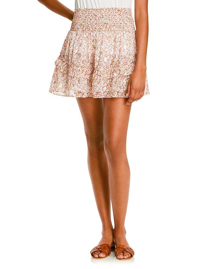 Lini Ilana Printed Mini Skirt - 100% Exclusive In Ivory