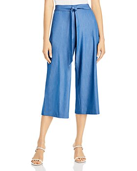 T Tahari - Belted Pull On Culottes