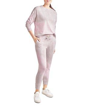 Splendid - Tie Dye Crewneck Sweatshirt & Tie Dye Jogger Pants