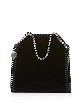 Stella McCartney - Tiny Falabella Velvet Shoulder Bag