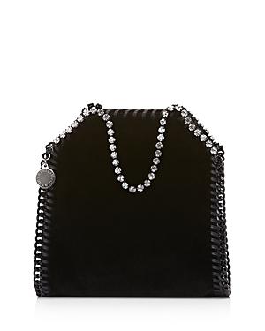 Stella McCartney Tiny Falabella Velvet Shoulder Bag