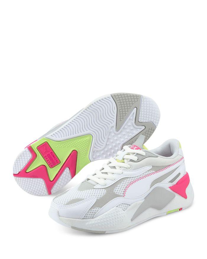 PUMA Women's RS-X³ Millennium Lace Up Sneakers  | Bloomingdale's
