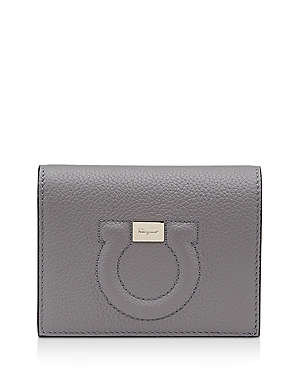 Salvatore Ferragamo MINI GANCINI LEATHER WALLET