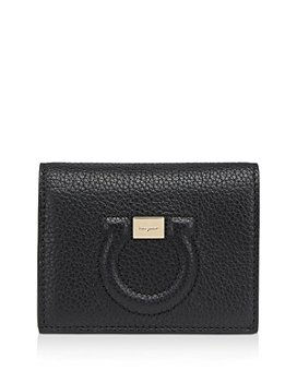 Salvatore Ferragamo - Mini Gancini Leather Wallet