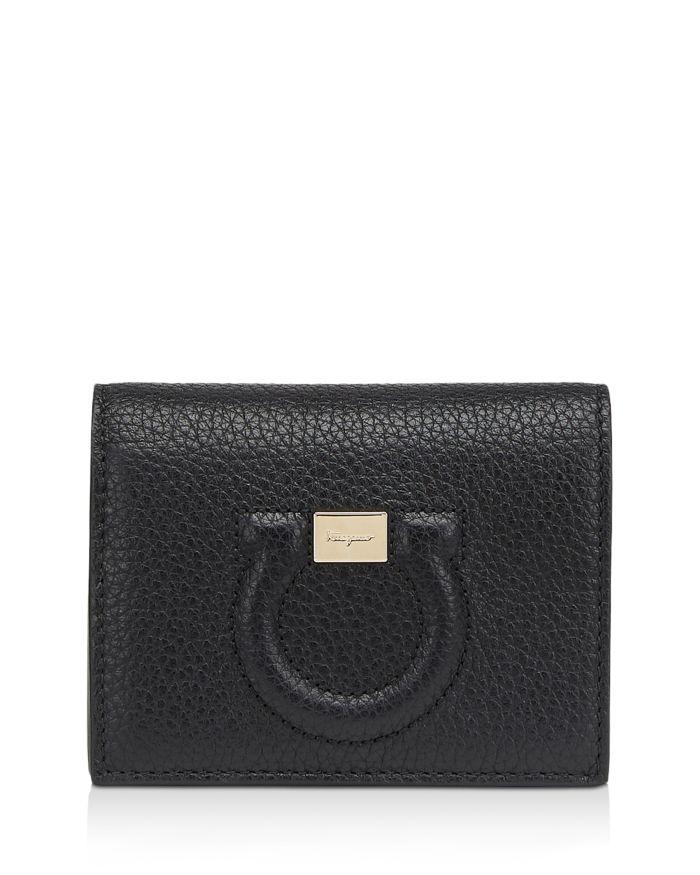 Salvatore Ferragamo Mini Gancini Leather Wallet  | Bloomingdale's