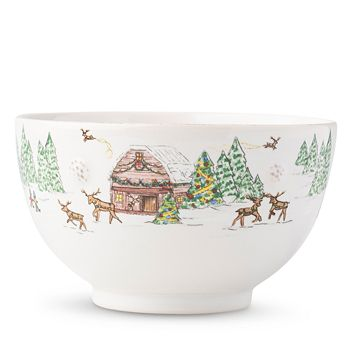 Juliska - Berry & Thread North Pole Cereal/Ice Cream Bowl