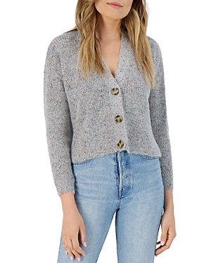 Bb Dakota SPECKLE AGENT CARDIGAN SWEATER
