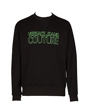 Versace Jeans Couture Felpa Slim Fit Logo Sweatshirt-Men