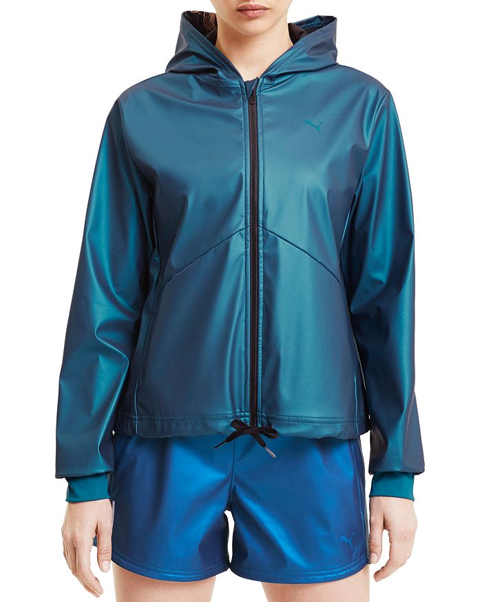 PUMA - Train Warm Up Coated Knit Jacket