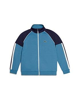 Lacoste - Boys' Full Zip Colorblock Track Sweatshirt - Little Kid, Big Kid