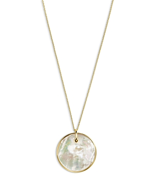 Ippolita 18K Yellow Gold Nova Mother of Pearl Pendant Necklace, 18-20-Jewelry & Accessories