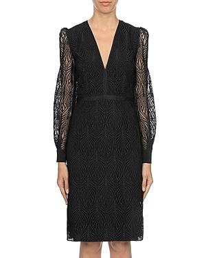 Alberta Ferretti Macrame Sheath Dress-Women