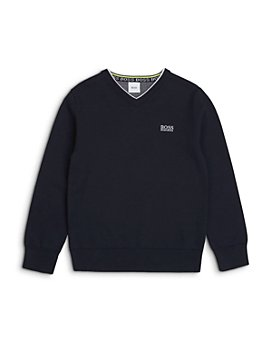 BOSS Hugo Boss - Boys' V Neck Sweater - Big Kid