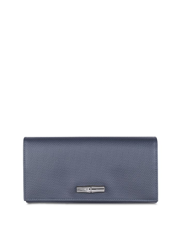 Longchamp - Roseau Wide Leather Continental Wallet