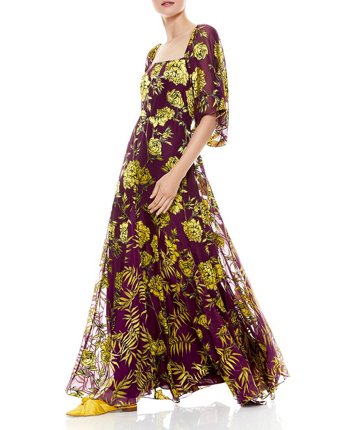 Alice and Olivia - Clarine Floral Print Dress