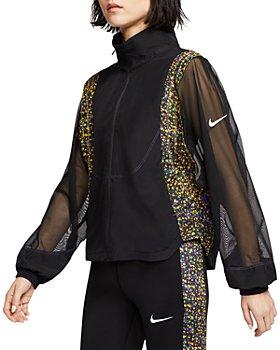 Nike - Icon Clash Mesh Panel Jacket