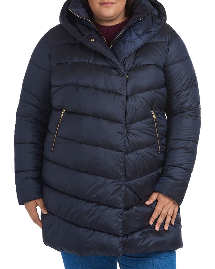 Barbour - Orchy Hooded Quilted Coat