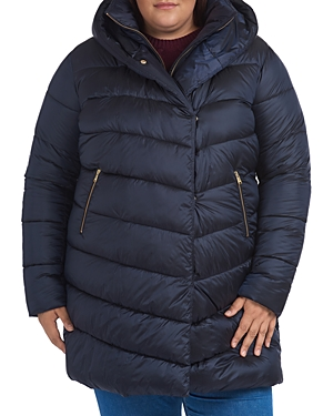Barbour PLUS ORCHY HOODED QUILTED COAT
