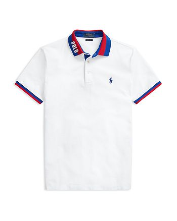 Polo Ralph Lauren - Cotton Custom Slim Fit Mesh Polo Shirt