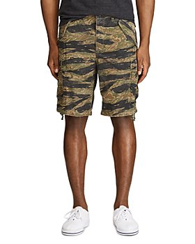 Polo Ralph Lauren - Cotton Camouflage Classic Tapered Fit Cargo Shorts