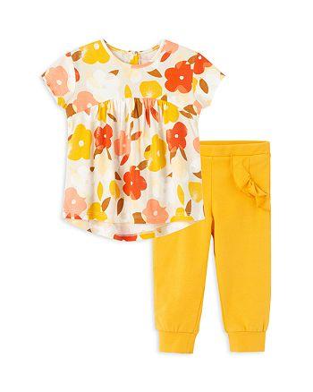 Peek Kids - Girls' Avery Floral Print Top & Leggings Set - Baby