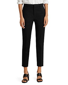 Ralph Lauren - High Rise Slim Leg Pants