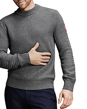 Canada Goose Patterson Merino Wool Classic Fit Sweater-Men