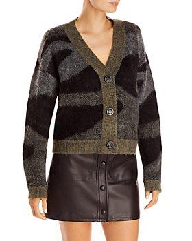 AQUA - Leopard Cardigan Sweater - 100% Exclusive