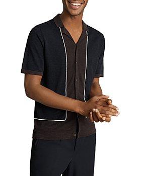 REISS - Mestre Color Blocked Knit Shirt