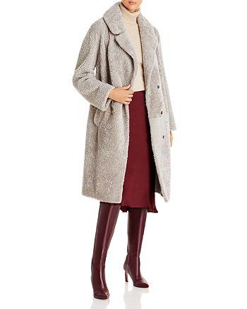 Maximilian Furs - Long Shearling Coat