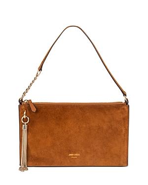 Jimmy Choo Callie Mini Suede Hobo-Handbags