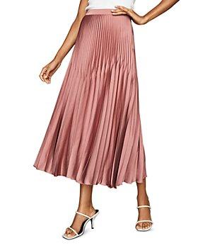 REISS - Dora Pleated Skirt