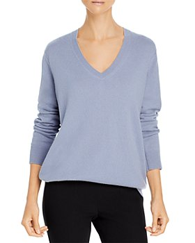 Vince - Weekend V Neck Cashmere Blend Sweater
