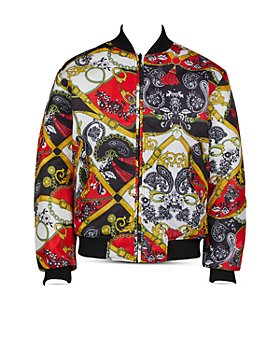 Versace Jeans Couture - Reversible Paisley Bomber Jacket