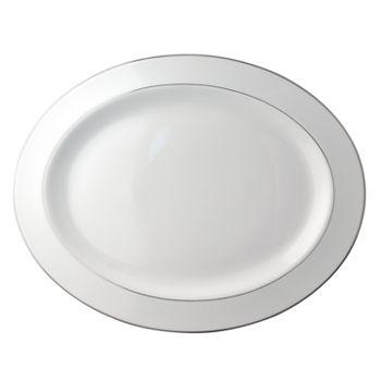 "Bernardaud - Cristal Oval Platter, 15"""