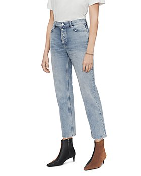 Anine Bing - Etta Jeans in Washed Light Blue