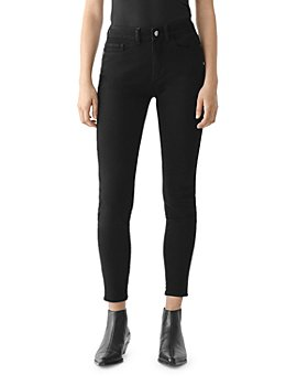 DL1961 - Florence Mid Rise Ankle Skinny Jeans in Black