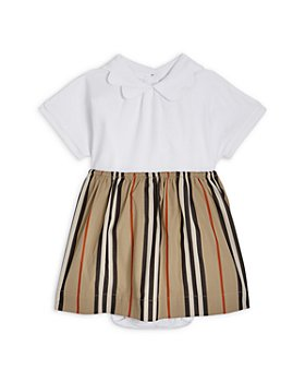 Burberry - Girls' Janine Icon Stripe Dress - Baby