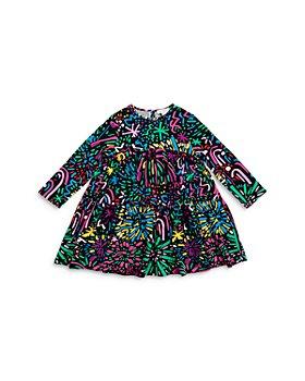 Stella McCartney - Girls' Fireworks Print Tiered Dress - Little Kid, Big Kid