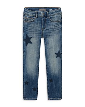 DL1961 - Girls' Chloe Castor Star Print Skinny Jeans - Big Kid