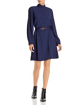 See by Chloé - Belted Turtleneck Dress