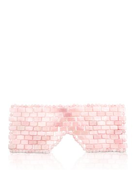 Angela Caglia - Rose Quartz Eye Mask